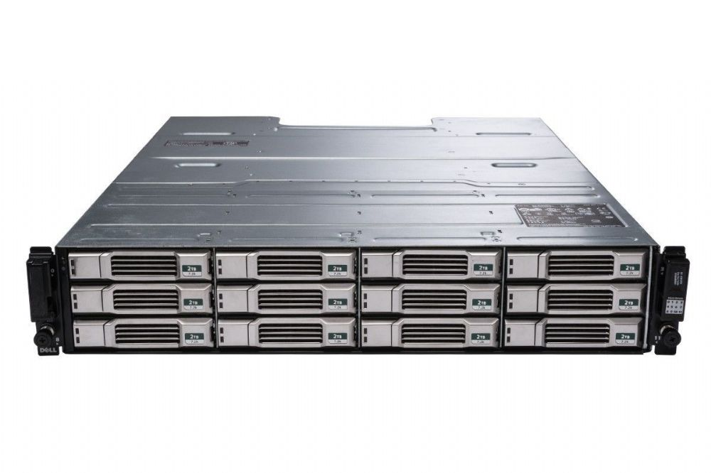 "Dell EqualLogic PS4100E 12 x 3TB NL-SAS 6GBps 3.5"" iSCSI SAN Array 36TB Rack 2U"